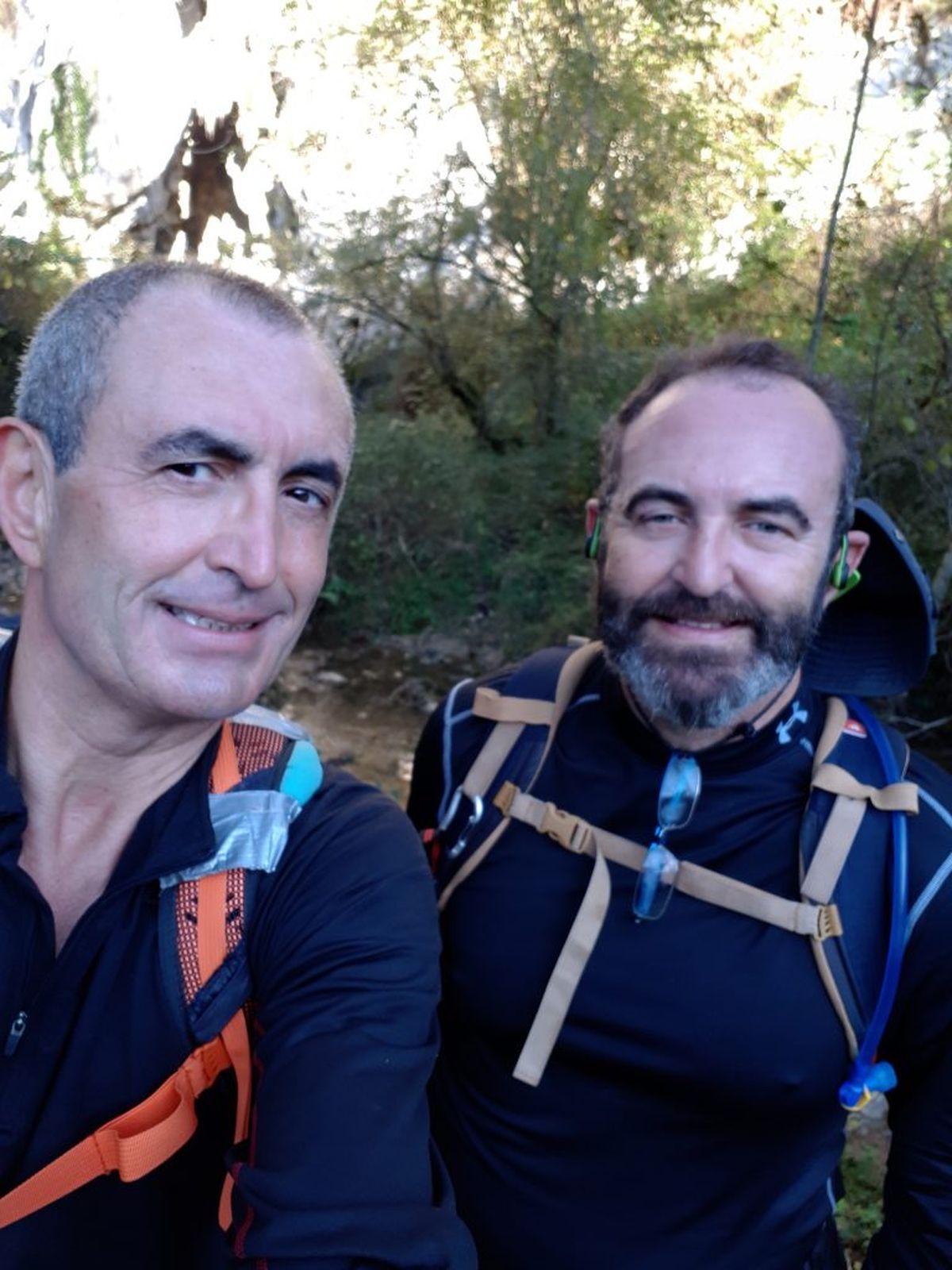 Con_Rubén_en_la_Vega_de_Orandi_camino_de_Les_Mestes