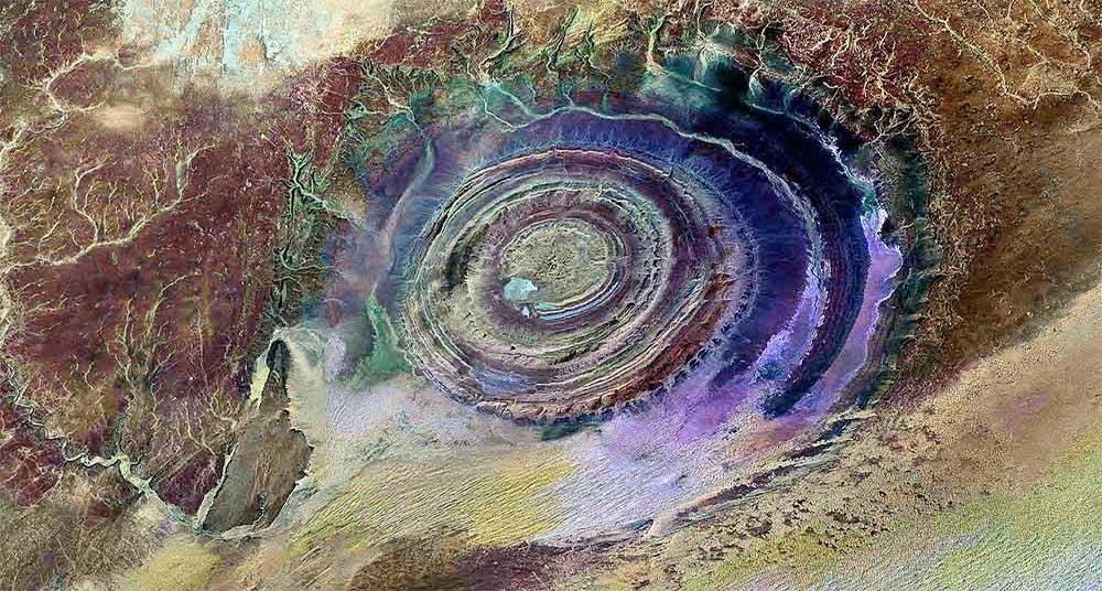 ojo del sáhara