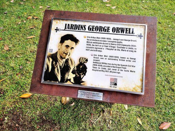 personajes_George_orwell_jardín_marcosplanet