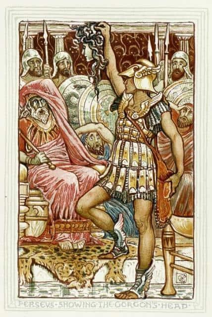 Perseo-mata-a-Polidectes-mostrando-la-cabeza-de-la-Medusa