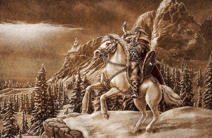 dios-blanco-Hemdall-Yggdrasil-marcosplanet