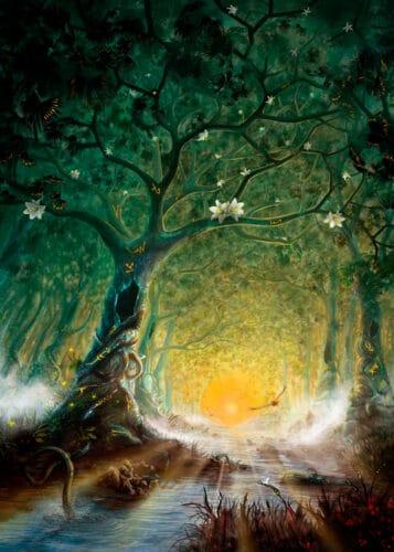 los-mitos-nórdicos-el-bosque-de-hodmimir-thor-Odin-marcosplanet