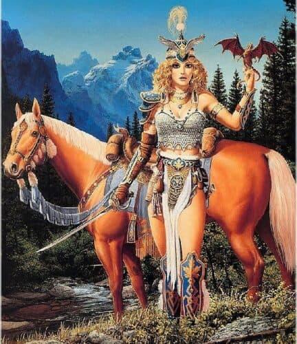 los-mitos-nórdicos-La-diosa-Freyja-o-Freya