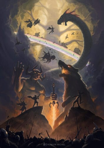 los-mitos-nórdicos-el-Ragnarok-o-fin-del-mundo-Ragnarök-marcosplanet