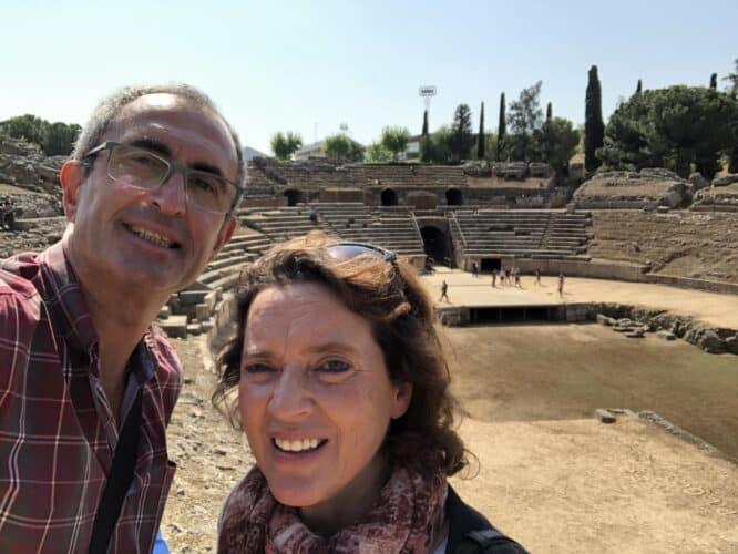 foso-del-anfiteatro-romano-de-Mérida-marcosplanet