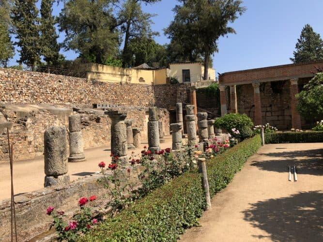 los-jardines-del-teatro-romano-de-Mérida