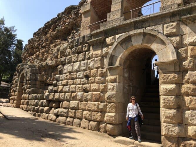 entrada-al-teatro-romano-de-Mérida-marcosplanet