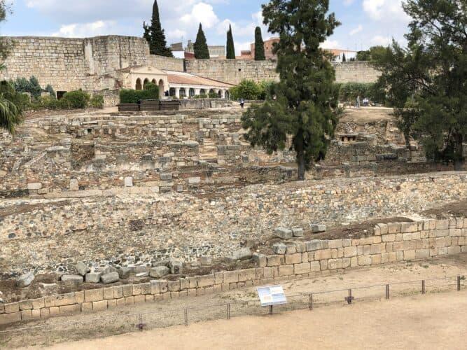 recinto-de-la-alcazaba-Mérida-marcosplanet